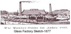Putzler Glass Factory, 1877